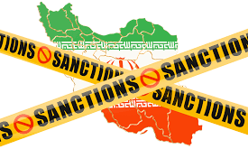 sanctions on Iran.