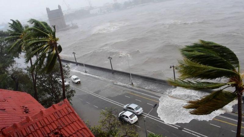 cyclone tauktae in India.